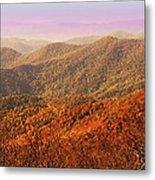 Smokey Mountains Metal Print by Will Burlingham
