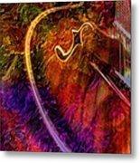 Song And Dance Digital Guitar Art By Steven Langston Metal Print