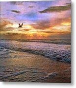 Soothing Sunrise Metal Print by Betsy Knapp