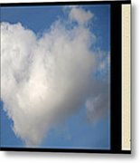 Soul Mate With Poetry Metal Print