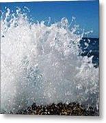 Splashy Island Metal Print by Imelda Sausal-Villarmino