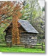 Spring Cabin I - Blue Ridge Parkway Metal Print by Dan Carmichael