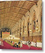 St Georges Hall At Windsor Castle Metal Print