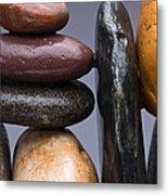 Stacked Stones 2 Metal Print
