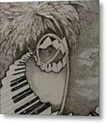 Stairway Il Metal Print by Jacquelyn Roberts