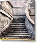 Stairway To The Unknown Metal Print by Sandra Bronstein