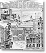 Stark County Ohio Print - Canton Lives Metal Print by Kelli Swan