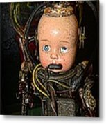 Steampunk - Cyborg Metal Print by Paul Ward