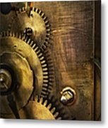 Steampunk - Toothy  Metal Print by Mike Savad