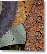 Steel Collage Metal Print