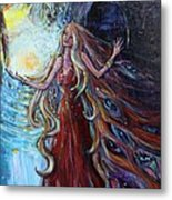 Step Out Of The Darkness Metal Print by Susi LaForsch