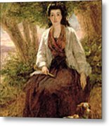 Sternes Maria, From A Sentimental Metal Print by William Powell Frith