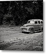Stuck In The Mud Metal Print by Edward Fielding