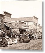 Sturgis South Dakota C. 1890 Metal Print