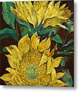 Sunflowers Metal Print by Michael Creese