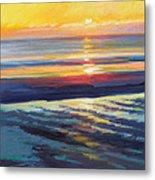 Sunrise Flats Metal Print