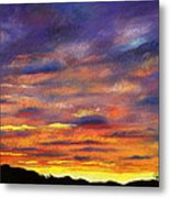Sunset Metal Print by Prashant Shah