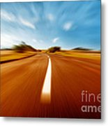 Super Speed Road Metal Print by Boon Mee