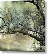 Surreal Gothic Dreamy Trees Nature Landscape Metal Print by Kathy Fornal