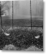 Swing Seats I Metal Print by Steven Ainsworth