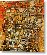 Tangerine Dream Metal Print by Jack Zulli