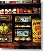 Tea And Coffee Metal Print
