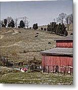 Tennessee Farmstead Metal Print