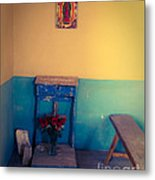 Terlingua Church Offering Metal Print by Sonja Quintero