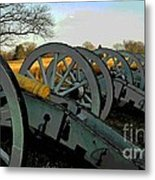 The Artillery Metal Print