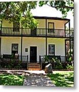 The Baldwin House In Lahaina I Metal Print