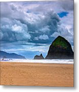 The Beautiful Cannon Beach Metal Print