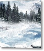 The Beautiful Gothic Winter Metal Print by Boon Mee