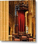 The Bishops Chair II Metal Print
