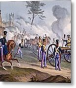 The British Royal Horse Artillery - Metal Print by English School