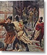 The Capture Of Constantinople Metal Print