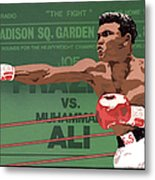 The Champ Metal Print by Anne Gifford