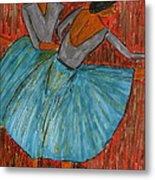 The Dancers Metal Print by John Giardina