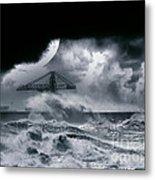 The Dark Storm Metal Print
