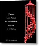 The Elegance Of Truth Metal Print