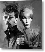 The Eurythmics Metal Print
