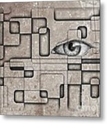 The Eye Of Big Brother Metal Print by John Malone