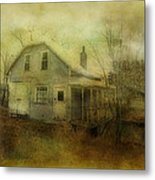 The Forgotten House  Metal Print by Dianne  Lacourciere