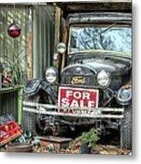 The Garage Sale Metal Print by JC Findley