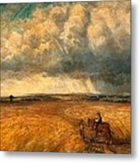 The Gathering Storm, 1819 Metal Print by John Constable