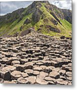 The Giant's Causeway In Northern Ireland Metal Print