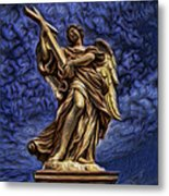The Golden Angel Metal Print