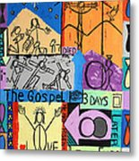 The Gospel Metal Print by Anthony Falbo