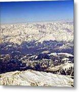 The Great Himalayas- Viator's Agonism Metal Print