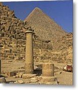 The Great Pyramids Giza Egypt  Metal Print by Ivan Pendjakov