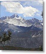 The Rocky Mountains - Colorado Metal Print by Mike McGlothlen
